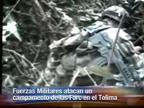BOMBARDEO EN EL CAÑON DE LAS HERMOSAS TOLIMA