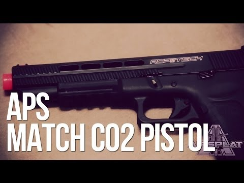 APS Match Grade ACP606 Spyder CO2 Airsoft Pistol - AirSplat On Demand