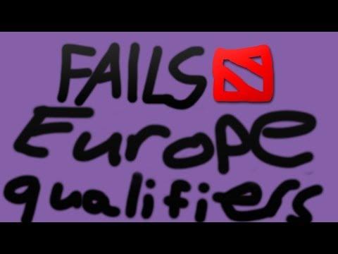 Dota 2 TI4 - EU Qualifiers - Fails