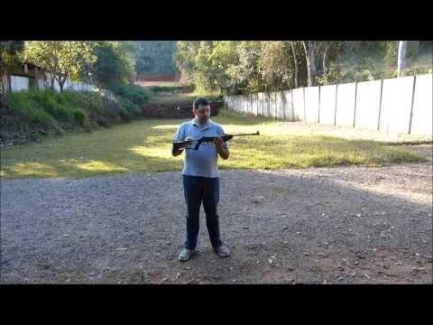 TESTE DE PRECISÃO - Carabina de presão Rossi Puma Junior 4.5mm
