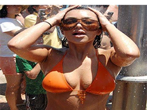 Ice Bucket Challenge to kim kardashian & nicki minaj & Elsa