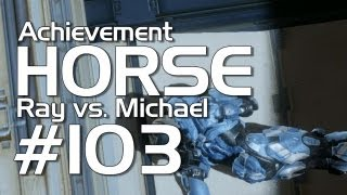 Halo 4 - Achievement HORSE #103! (Michael vs. Ray)