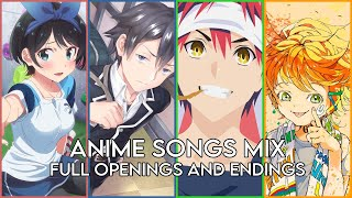 Download lagu BEST ANIME OPENINGS AND ENDINGS COMPILATION [FULL SONGS]