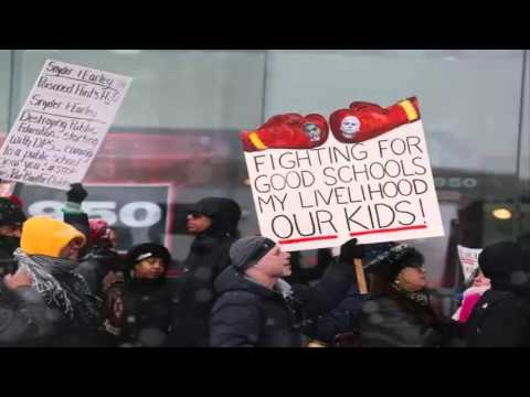 World News: Detroit teachers plan protest Monday; schools may close (Flash Google News)