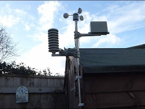 Review and setup of the Maplin weather station
