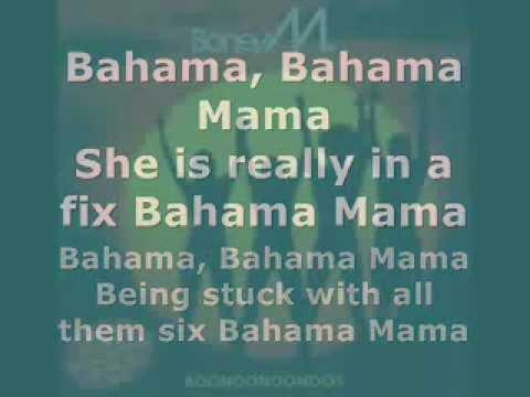 Boney M - Bahama Mama (Lyrics)
