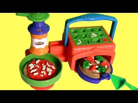 Play Doh Twirl 'n top Pizza Shop Pizzeria Playset - Make Pizzas with Playdough by Disneycollector