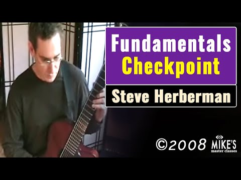 Steve Herberman - Fundamentals Checkpoint