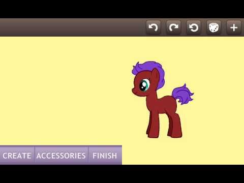 Как сделать 2 пони на одном фоне в пони креаторе 2
