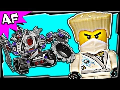 DESTRUCTOID 70726 Lego Ninjago Rebooted Animated Building Set Review