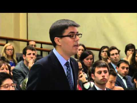 The 2013 Ames Moot Court Competition - Final Round