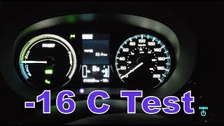 Mitsubishi Outlander PHEV - A Series of Canada Cold Tests