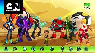 ¡Conoce a los nuevos alienígenas omni-mejorados! | Ben 10 | Cartoon Network