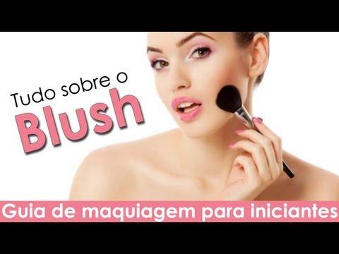 Blush ideal para cada tom de pele e formatos de rosto #Iniciantes (Reuplpad)