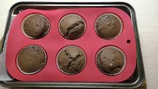 Шоколадные кексы на кефире//Простой и вкусный рецепт кексов