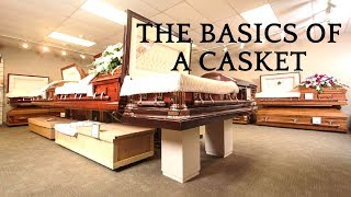 Casket Education by a funeral director