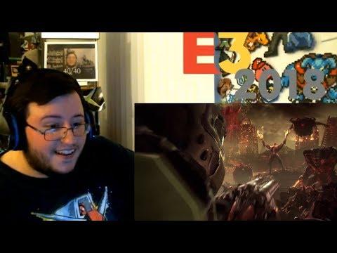 DOOM ETERNAL REVEAL!!! HELL YES! - Bethesda Press LIVE Group Reaction (E3 2018)
