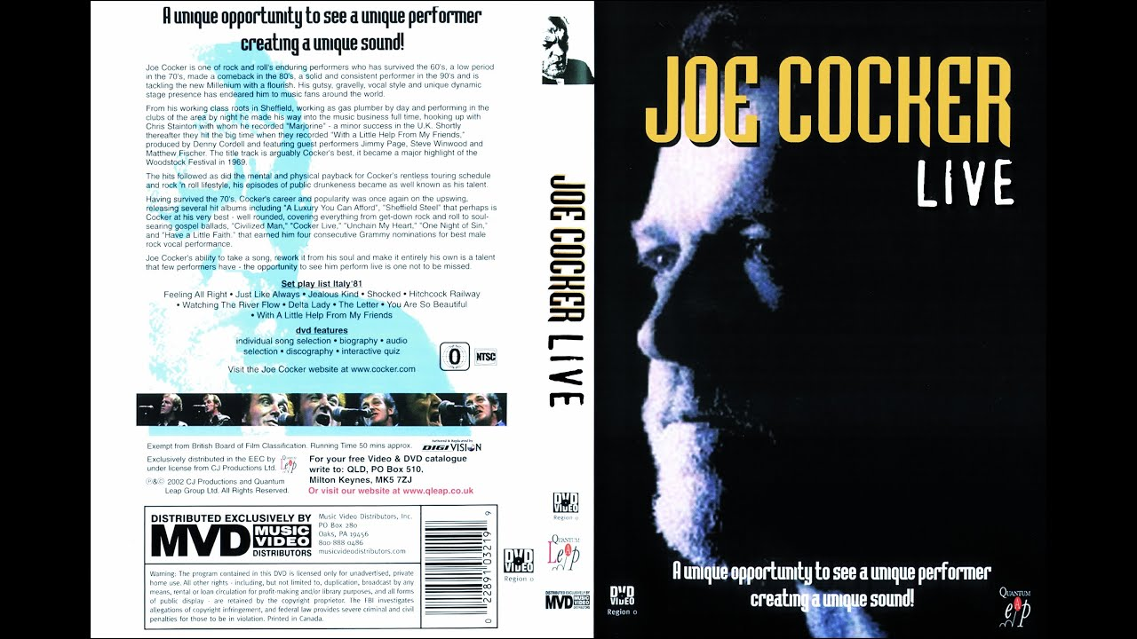 Joe Cocker With a Little Help From My Friends