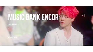190419 Music bank encore Boy With Luv BTS JIMIN Focus