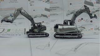 Metal Earth Build - Excavator - CAT