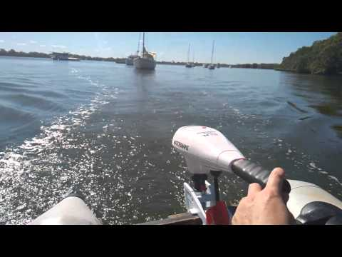 лодочный электромотор watersnake видео