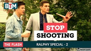 The Flash season 4 episode 06 Ralph shoot the robber TWICE | Ralph Dibny best funny scenes
