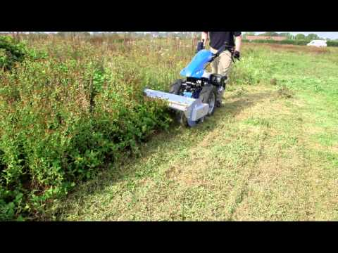 BCS 740 Two Wheel Tractor Demonstration by Tracmaster Ltd