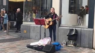 Allie Sherlock live performance in Cork Ireland, Million Years Ago; Travel Podcast