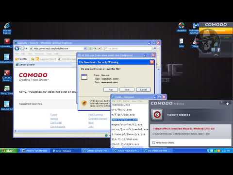 Comodo Internet Security with Immunet (Default settings) - Combination test