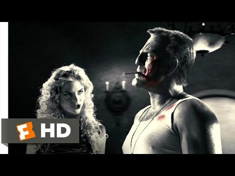Sin City (2/12) Movie CLIP - Hit Him Again, Wendy (2005) HD