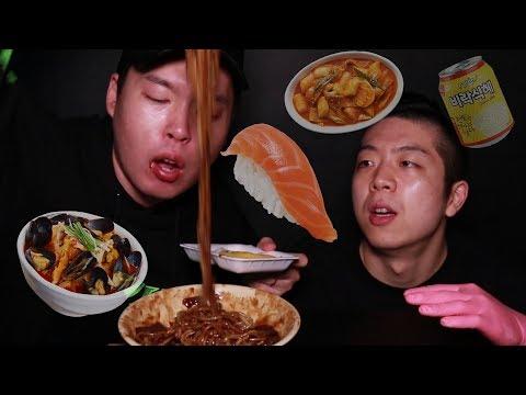 한국인이 외국 살면 그리워하는 음식먹방 (유학생 절대 클릭 금지 위험함)