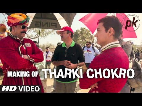 Exclusive: Making of 'Tharki Chokro' Video Song | Aamir Khan, Sanjay Dutt | PK