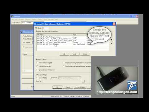 How to Flash Nokia N8 with Phoenix - Complete Demo