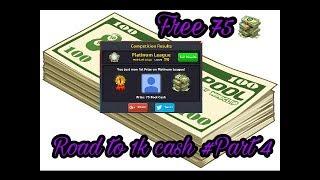 Road to 1k cash #Part 4 / free 75 cash 😍😍