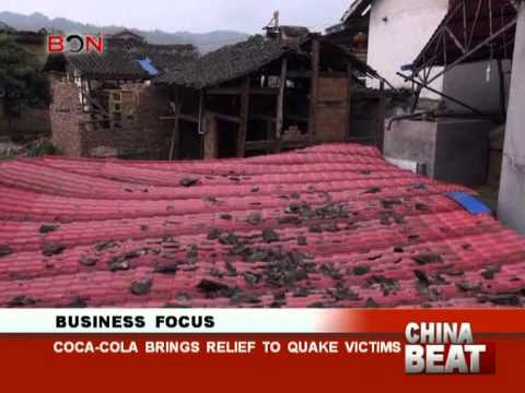 Coca-cola brings relief to quake victims - China Beat - April 24,2013 - BONTV China