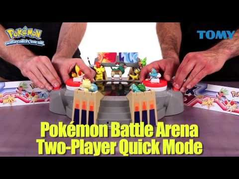 Pokémon X and Pokémon Y Battle Arena-Two Player Quick Mode