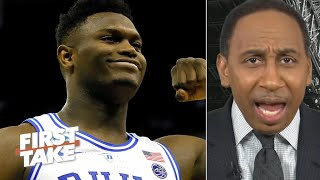Duke isn't better off without Zion! – Stephen A. | First Take