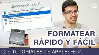 CÓMO FORMATEAR UN MAC BIEN, RÁPIDO Y FÁCIL   Los Tutoriales de Applesfera