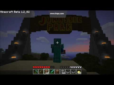 minecraft jurassic park