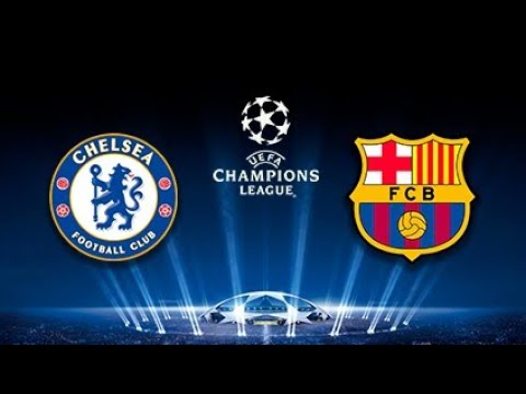 Barcelona-Chelsea League Champions DREAM LEAGUE SOCCER ANDROID GAMEPLAY.Барселона - Челси .