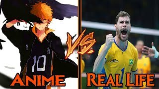 Haikyuu VS Real Life