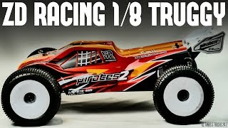ZD RACING V2 RTR 1/8 Brushless Truggy 08423 - Unboxing & In-Depth Look