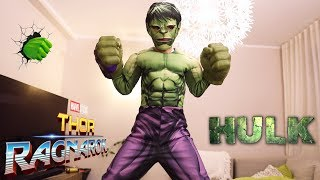 Hulk Attack New Gear From Hasbro Marvel Thor Ragnarok: Mask, Hands, Costume