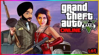 🔴 INDIAN PLAYING GTA 5 ONLINE - RACE STUNTS & LTS FUN #42 🔴