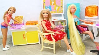 Barbie Rapunzel Computer Education💝- Fun And Simple
