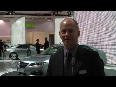 New Saab 9-5 Design review at IAA Frankfurt 2009
