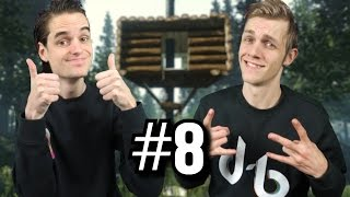 BOOMHUTTEN BOUWEN? YEAH!!! - THE FOREST CO-OP #8