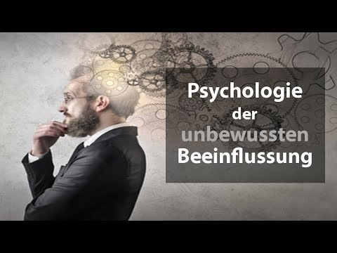 Psychologie der unbewussten Prozesse - Das manipulierte Gehirn (Eskil Burck)