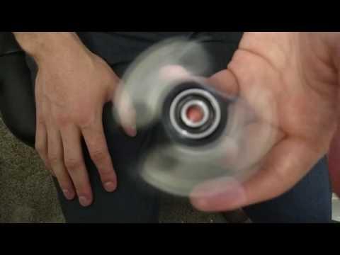 Triple Spinner V2 Fidget Demo