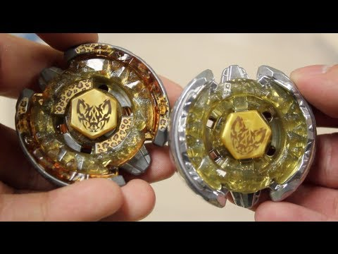 HASBRO V.S TAKARA TOMY BATTLE: Beat Lynx AD145WD VS Beat Lynx TH170WD - Beyblade Metal Fury (4D)